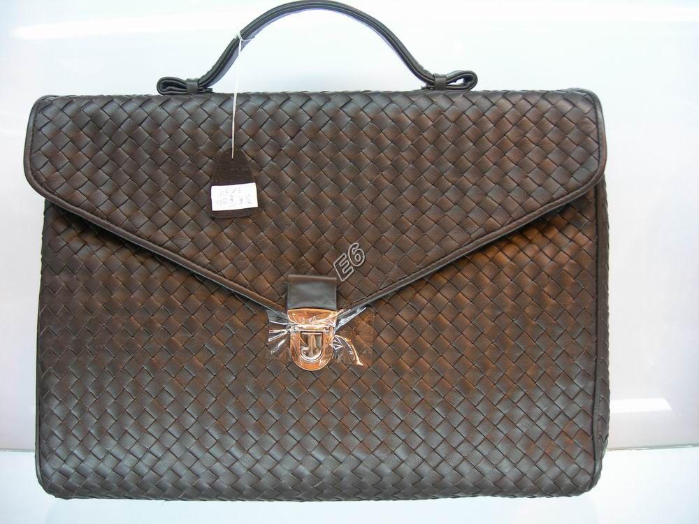 Супер-копия Мужской портфель коричневый Bottega Veneta 1.